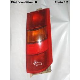 Right taillight lens FRANKANI 1221805