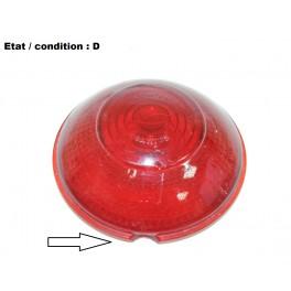 Red tailight lens SCINTEX LR10 (glass)