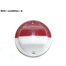 Cabochon feu gabarit blanc rouge SEIMA 3022