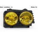 Right twin headlight HELLA Morette 8702000/D